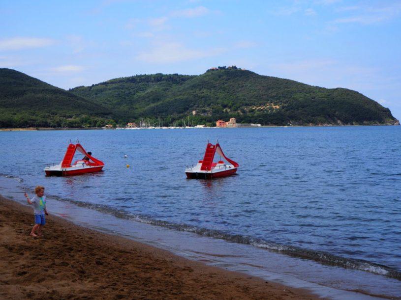 Baratti beach Tuscany Italy