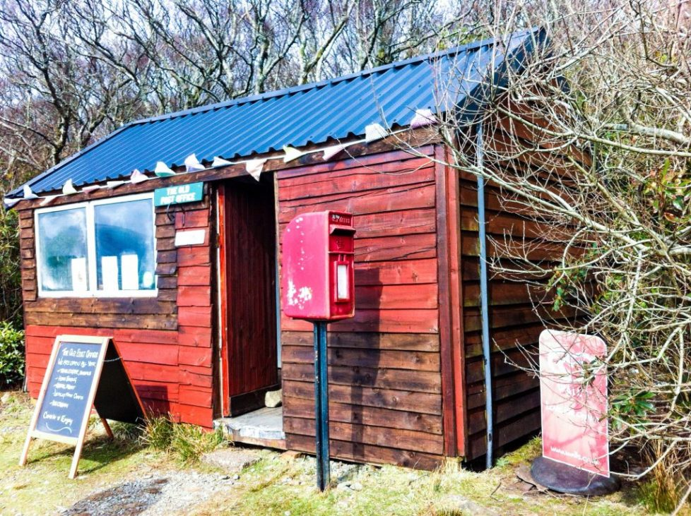 Honesty post office - Lochbuie: Things to do on Mull