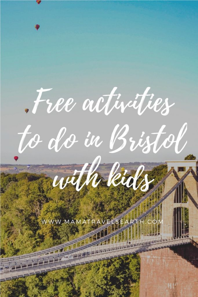 Free activities in Bristol with kids