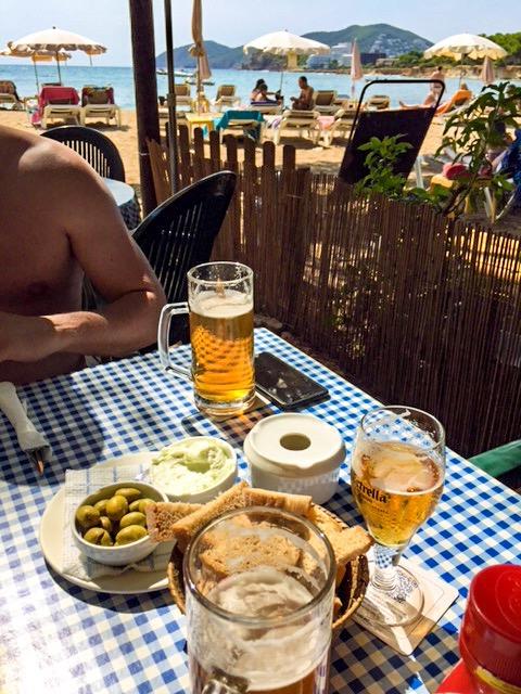 Niu Blau beach - family friendly villa to rent in ibiza