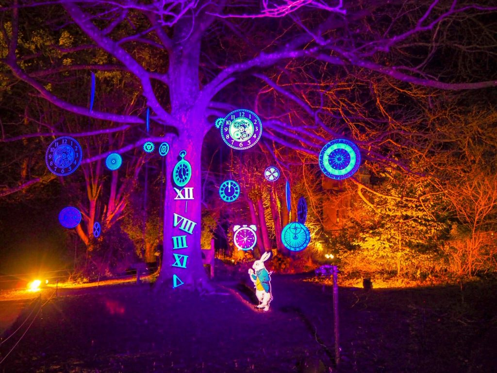 Sudeley Castle light show