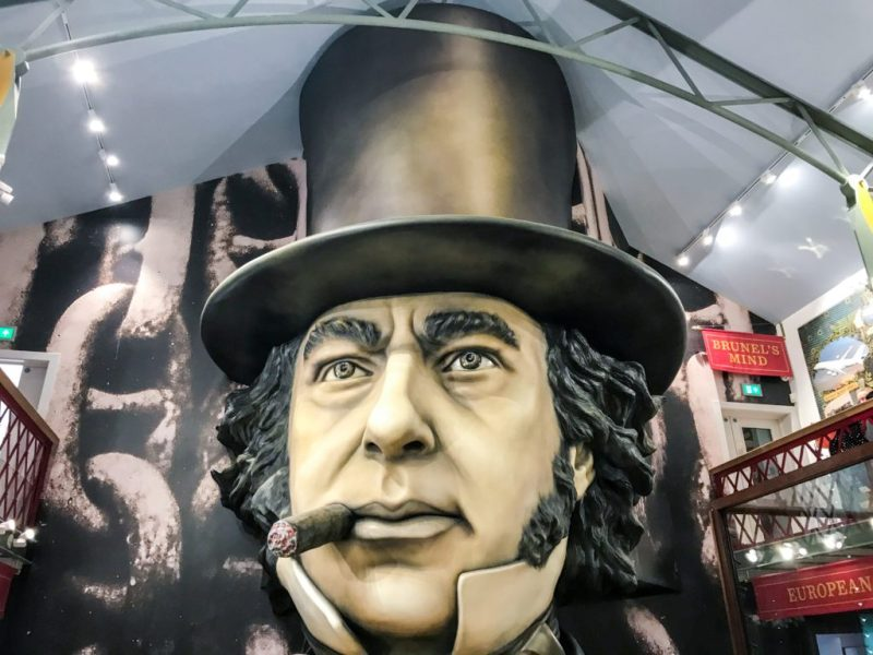 Isambard Kingdom Brunel - being brunel museum
