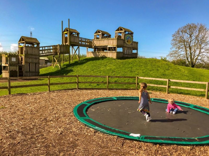 Puxton Park trampolines and playground