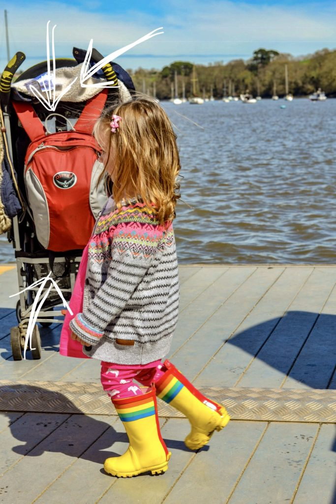 Review - child carrier backpack - osprey poco
