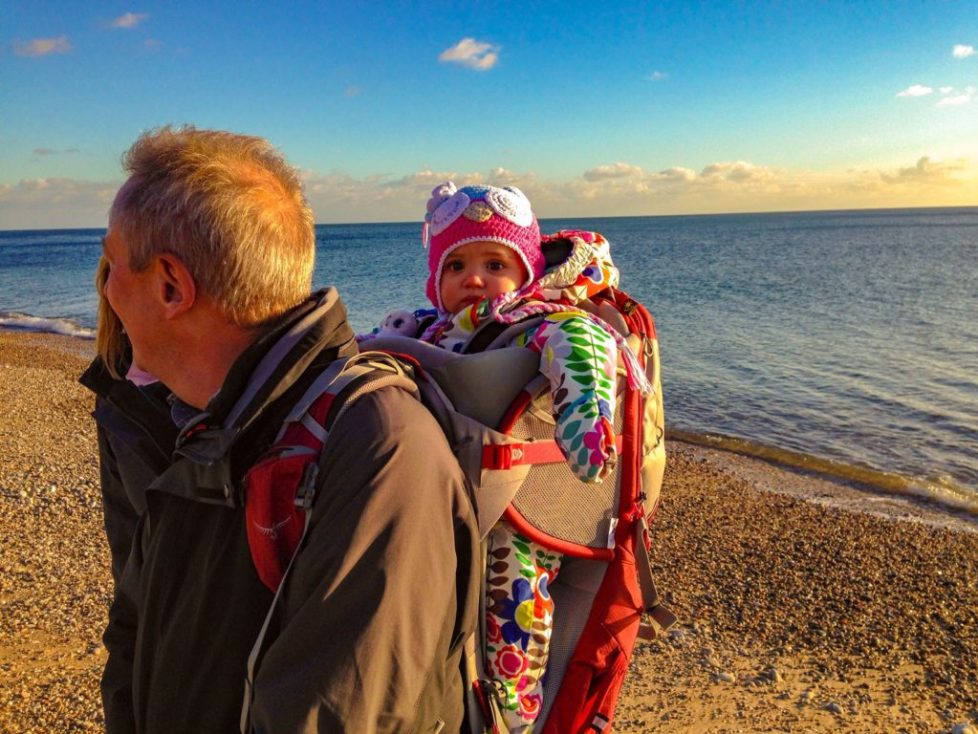 Review my favourite child carrier backpack - Osprey Poco (4)