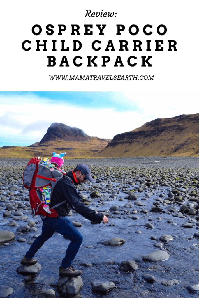 Review: my favourite child carrier backpack - Osprey Poco