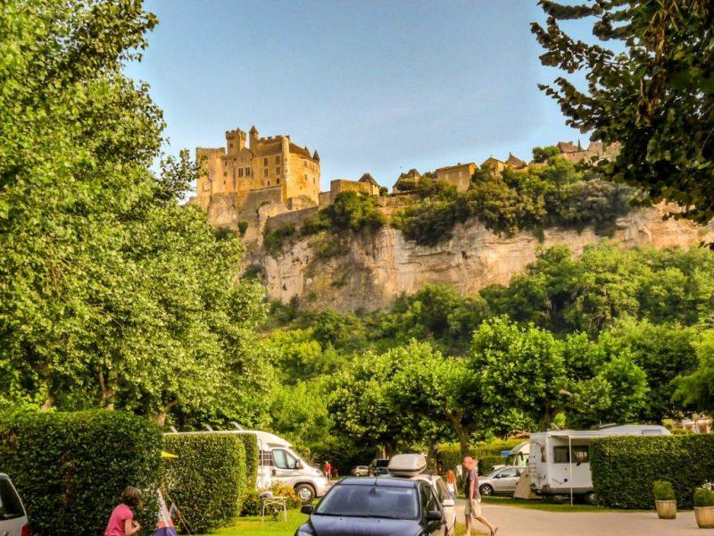 chateau de beynac campsite Dordogne