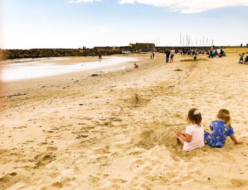 sandcastles lyme regis beach