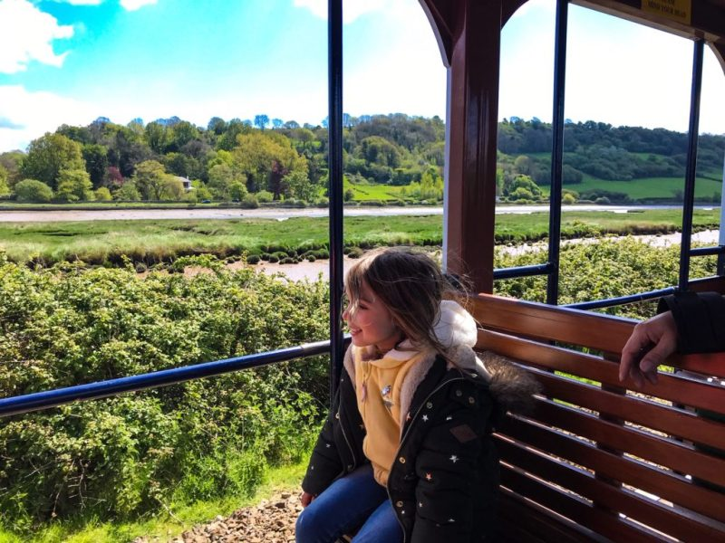 Andrewshayes holiday park devon campsites near bristol - glamping pod view from seaton tram