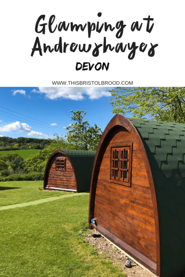 Glamping at Andrewshayes Holiday Park Devon - campsites near Bristol