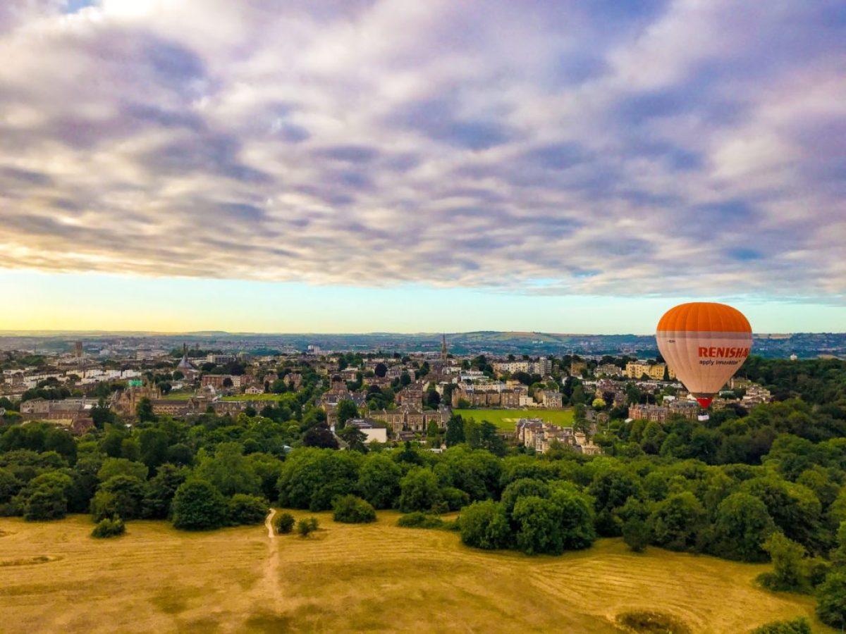 The Downs bristol hot air balloon
