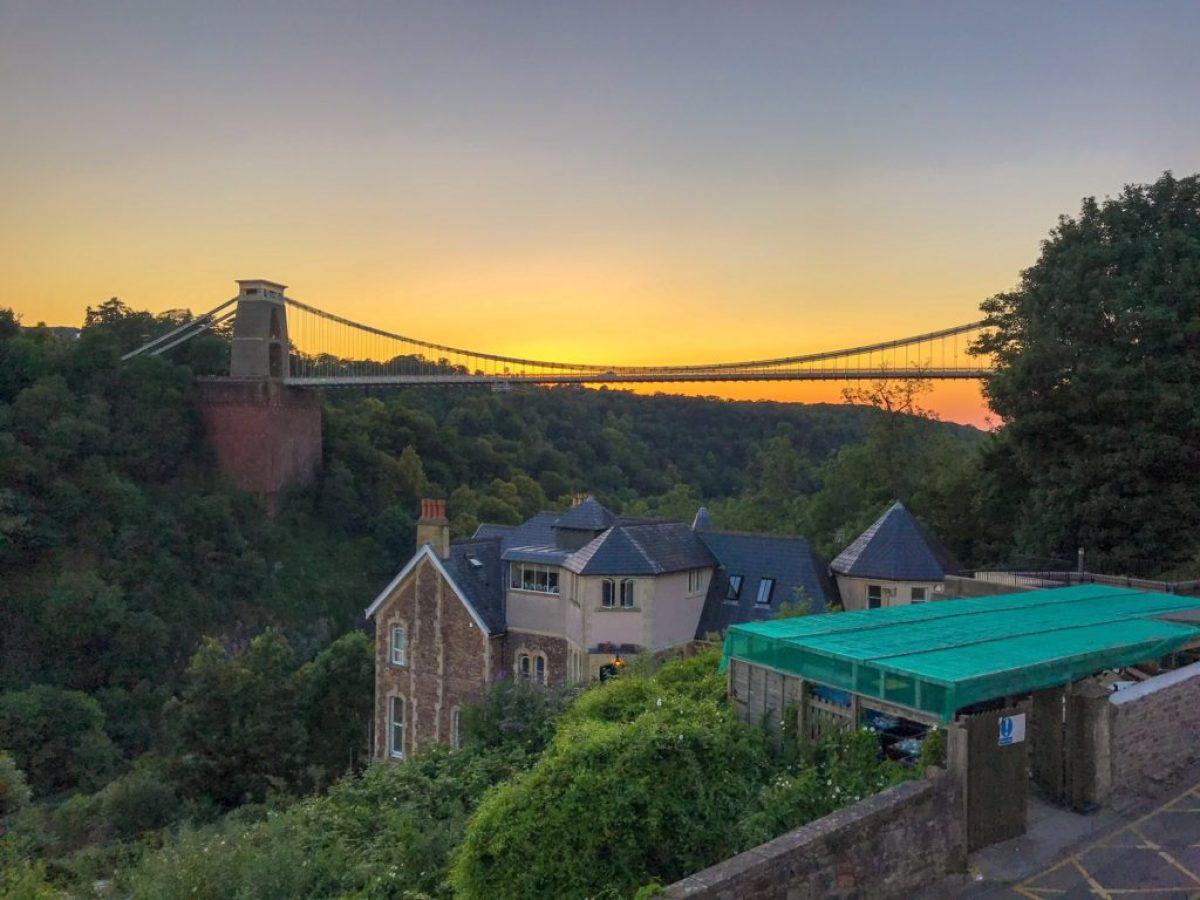 Clifton suspension bridge avon gorge