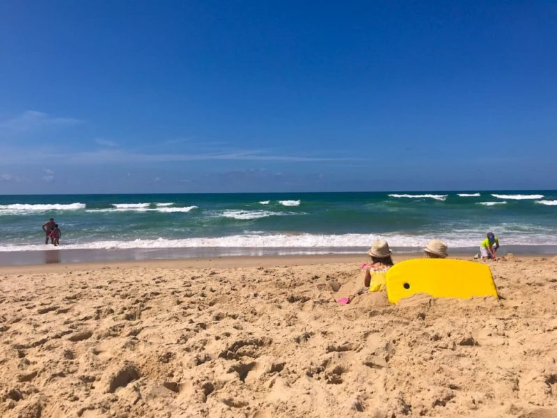 Hourtin Plage beach surf, south west france