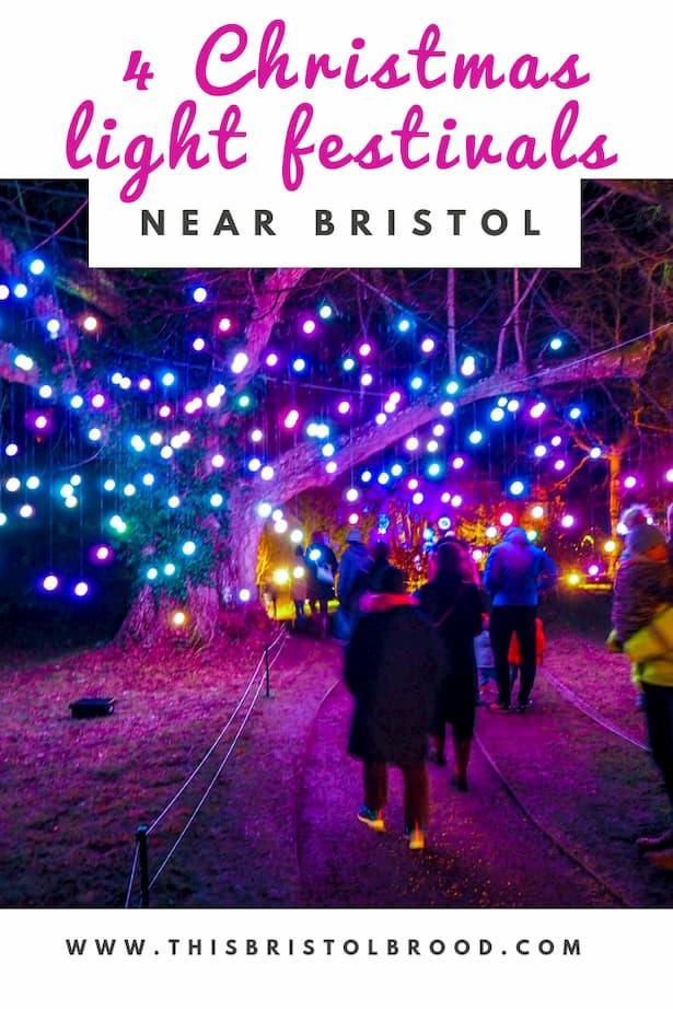 4 of the best Christmas light festivals near Bristol