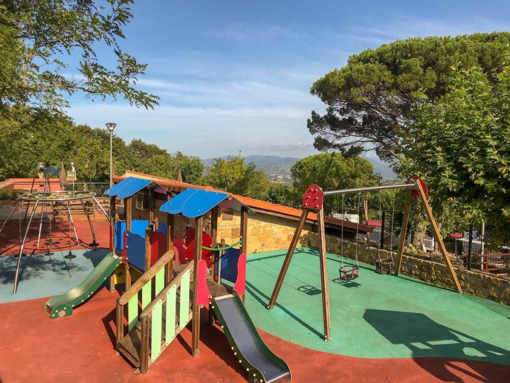 camping bungalows san sebastian - playground