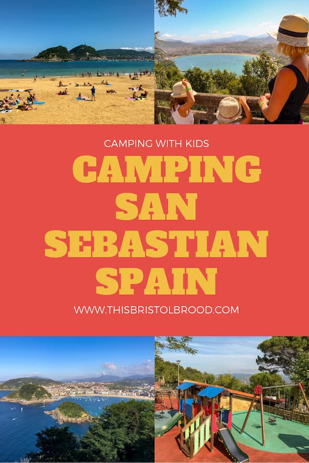 camping san sebastian spain