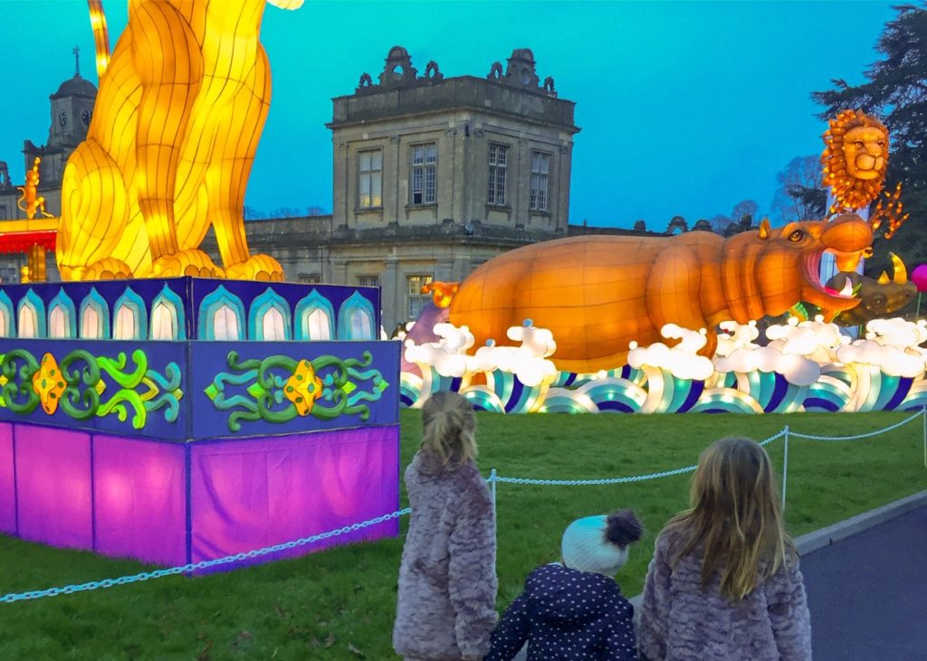 Longleat safari park festival of light