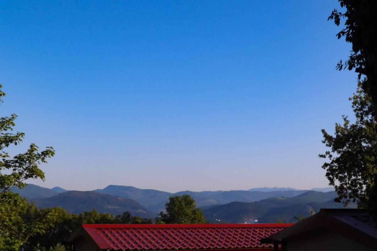 Camping san sebastian - mountain views