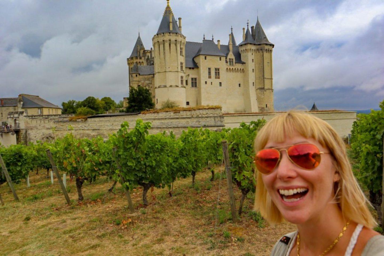 Chateau de Saumur France