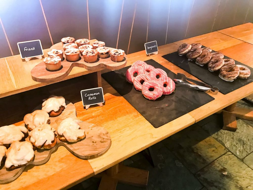 Doughnuts at the Wild Cafe