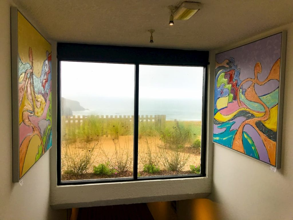 Corridor art Bedruthan hotel and spa
