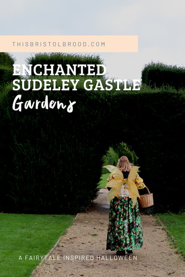 Enchanted Sudeley Castle gardens - a fairytale-inspired Halloween event