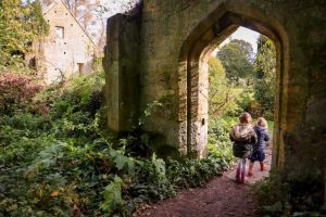 Enchanted Sudeley Castle gardens - halloween