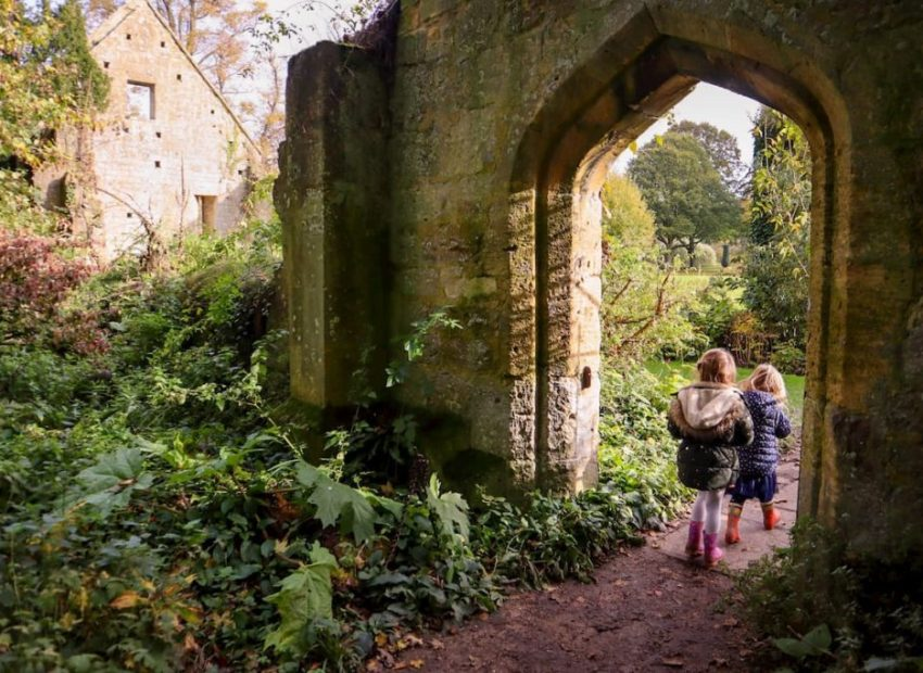 Enchanted Sudeley Castle gardens - halloween