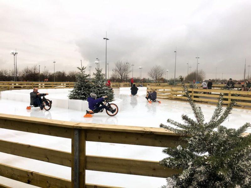 Icebyks on the Ice Rink - Winter Wonderland, The Mall at Cribbs Causeway