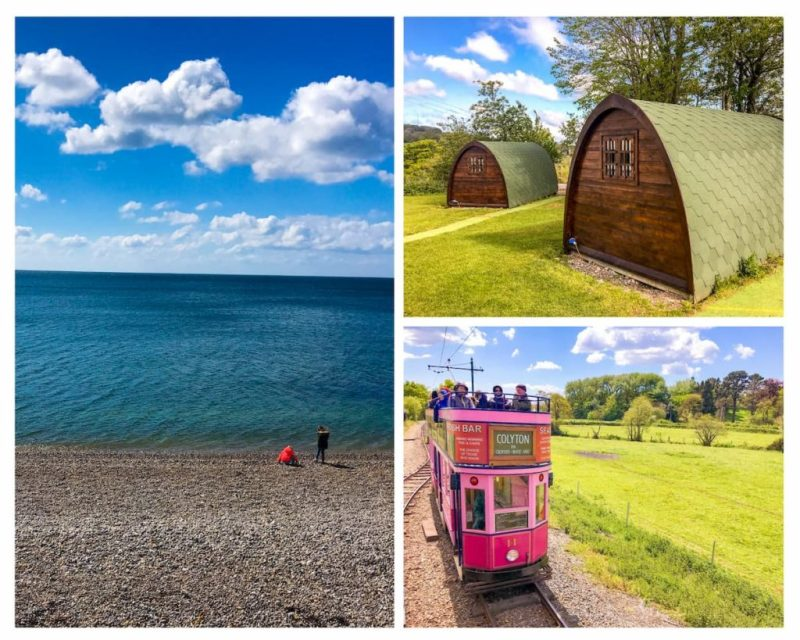 Seaton and Andrewshayes holiday park, devon