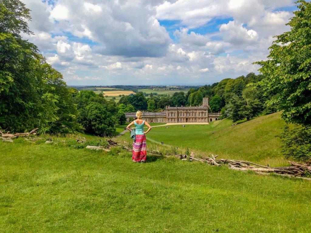 National Trust Dyrham Park near Bath