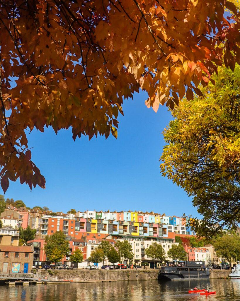 Baltic Wharf, Bristol Harbourside in autumn
