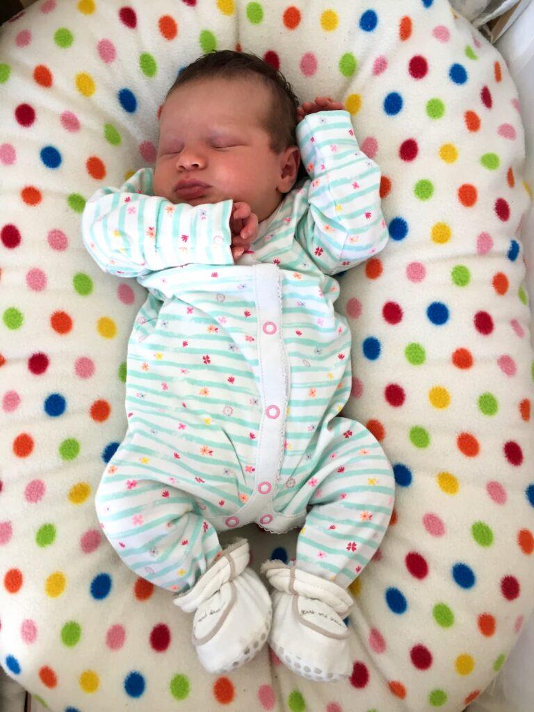 Poddle pod - baby sleeping cushion