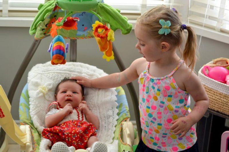 Fisher price baby swing - newborn must-haves