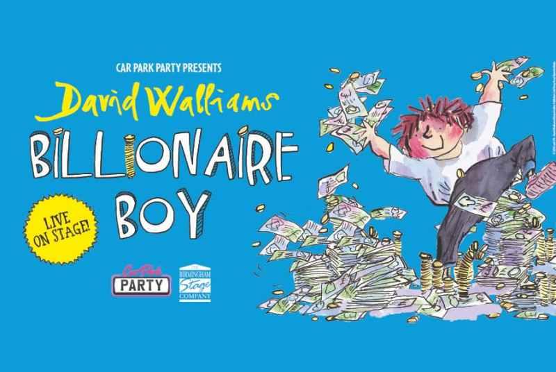 David Walliams' billionaire boy performance at Bath and West Showground