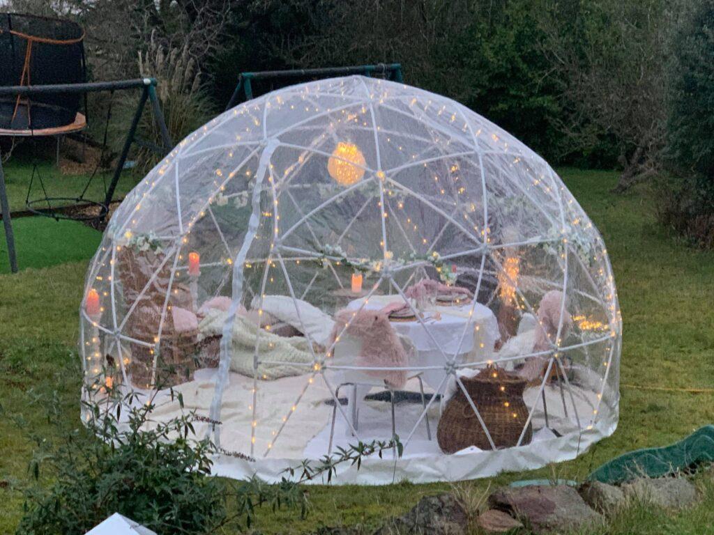 Sleep under Bristol garden dome