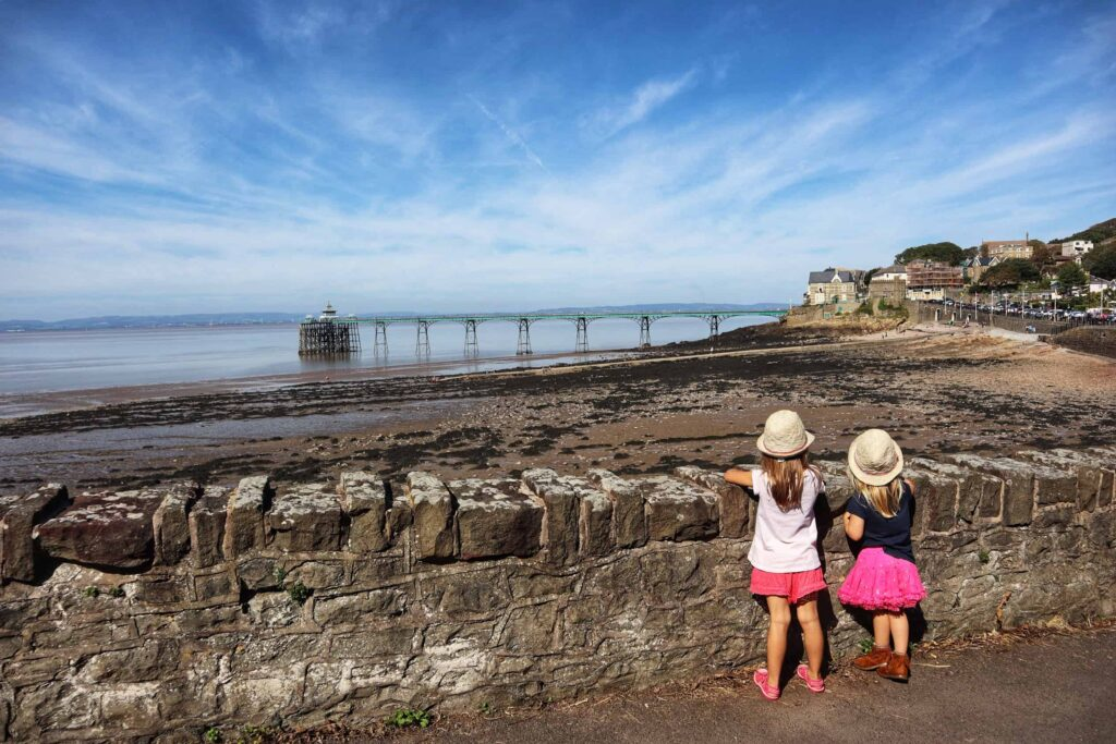 Clevedon seafront walk