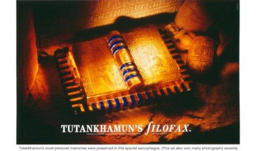 Tutankamen's Filofax