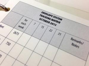 05 TBL setup matrix