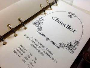 21 TBL setup envelope chandler