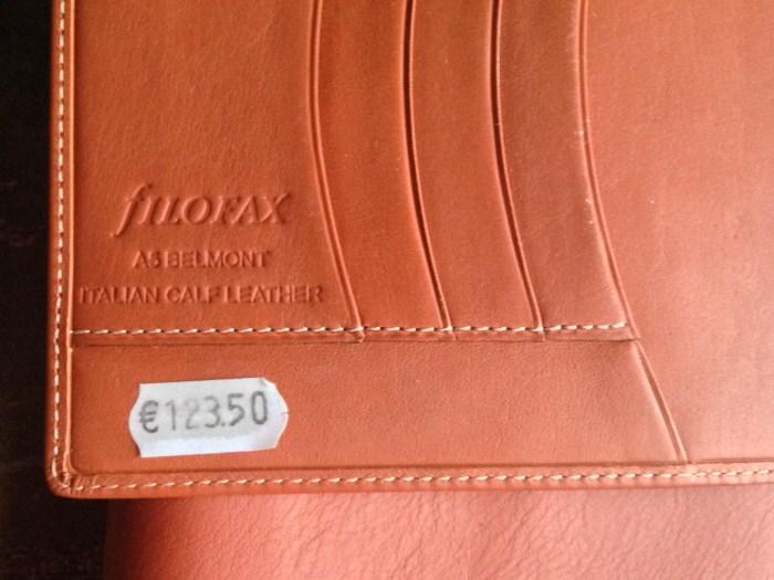 Original price tag