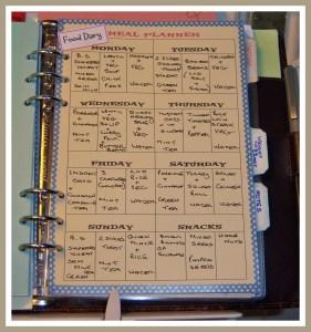 (1) My Food Diary