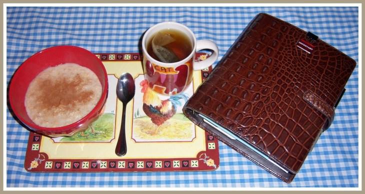 (2) Porridge & Filofax