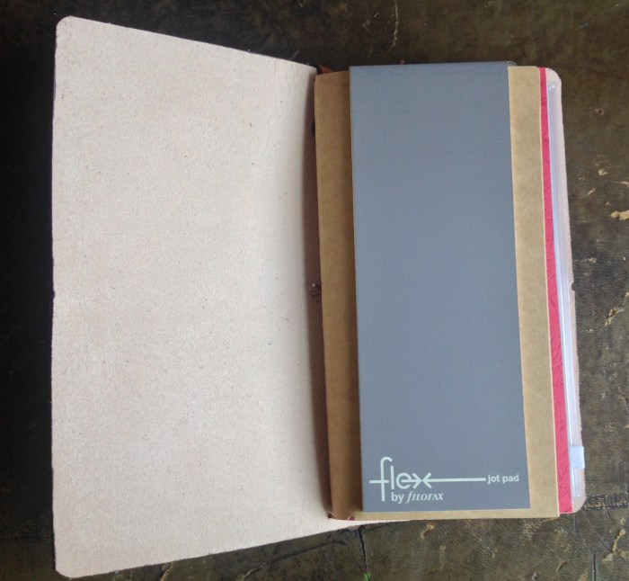 I use a Flex Jotter pad for shopping lists and anything I don't need to keep