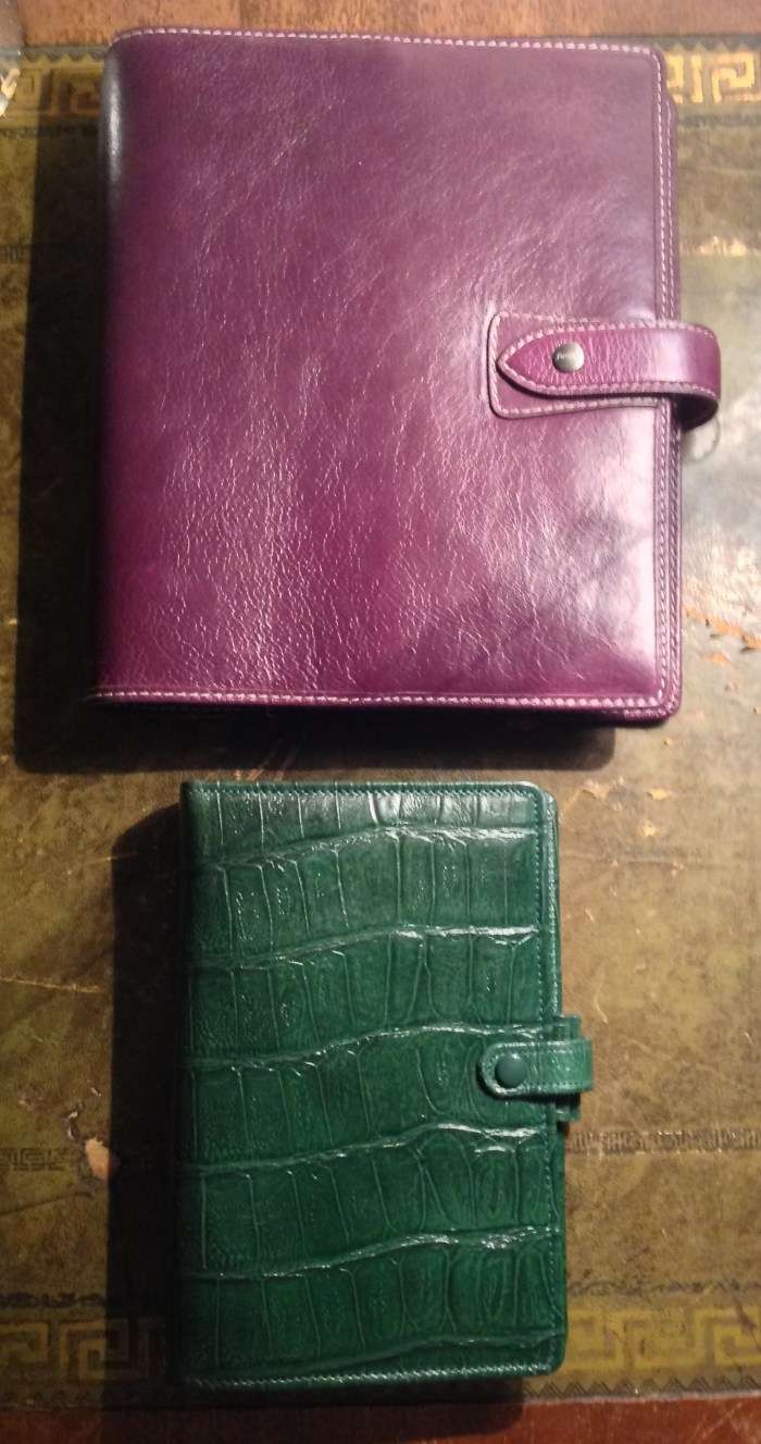 With Green Dundee - no matter whether light or dark, green and purple always go together.