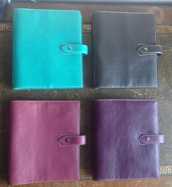 A5 Maldens - Aqua, Purple, Grey, Vintage Pink
