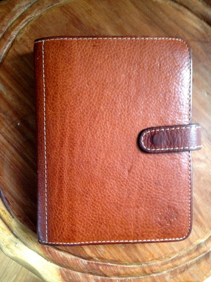 Mulberry Agenda Planner. Bought in Stockholm 2007.