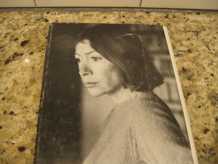 """Author photograph on the dust jacket of my copy of """"The White Album"""""""
