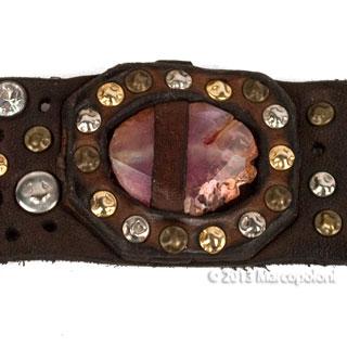 GAETANO-Wide-Studded-Leather-Bracelet-Pink-6-320-1