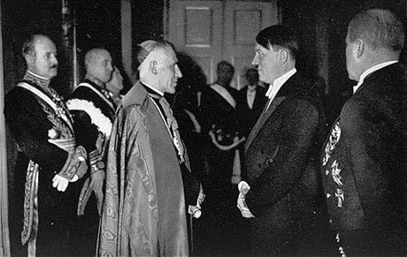 Pope Pius XII and Adolf Hitler
